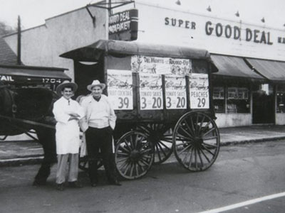 1945 Small Grocers Struggle